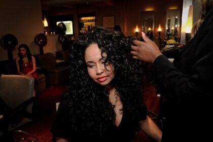 Wavy Hair at salon